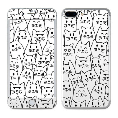 Apple iPhone 7 Plus Skin - Moody Cats