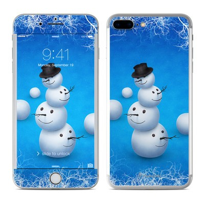 Apple iPhone 7 Plus Skin - Merry Snowman