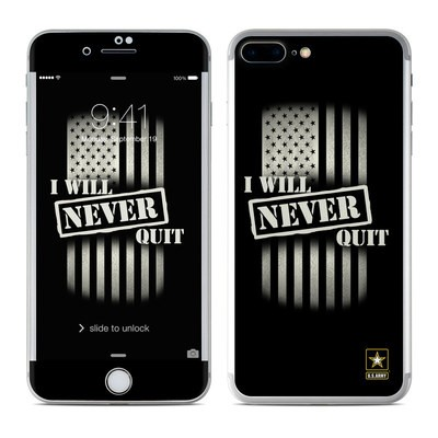 Apple iPhone 7 Plus Skin - Never Quit