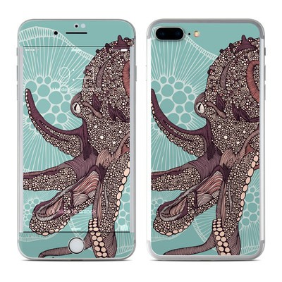 Apple iPhone 7 Plus Skin - Octopus Bloom