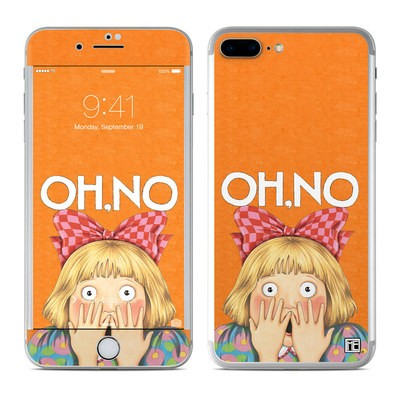 Apple iPhone 7 Plus Skin - Oh No