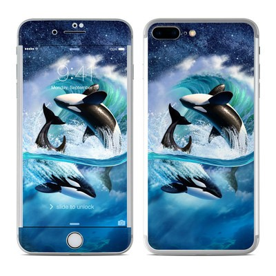 Apple iPhone 7 Plus Skin - Orca Wave