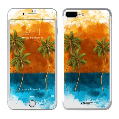 Apple iPhone 7 Plus Skin - Palm Trio