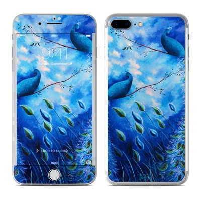 Apple iPhone 7 Plus Skin - Paradise Peacocks