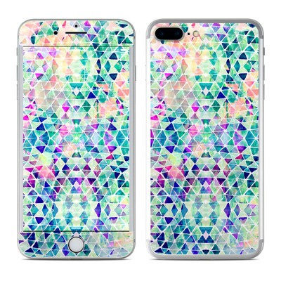 Apple iPhone 7 Plus Skin - Pastel Triangle