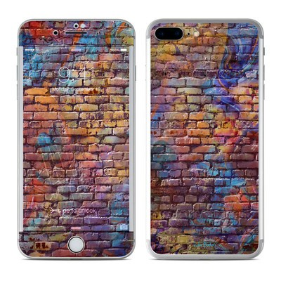 Apple iPhone 7 Plus Skin - Painted Brick