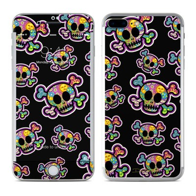 Apple iPhone 7 Plus Skin - Peace Skulls