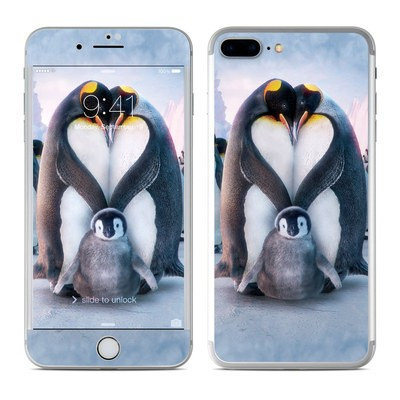 Apple iPhone 7 Plus Skin - Penguin Heart