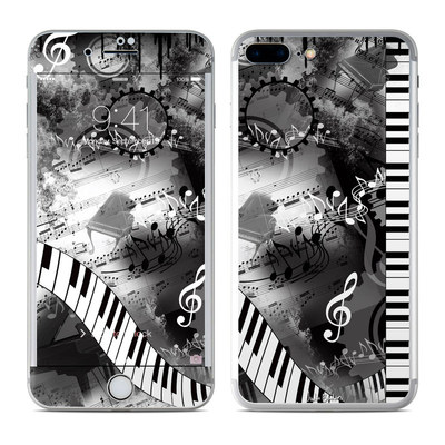 Apple iPhone 7 Plus Skin - Piano Pizazz
