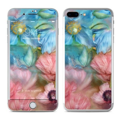 Apple iPhone 7 Plus Skin - Poppy Garden