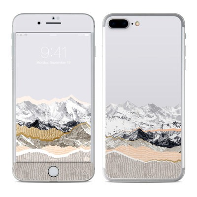 Apple iPhone 7 Plus Skin - Pastel Mountains