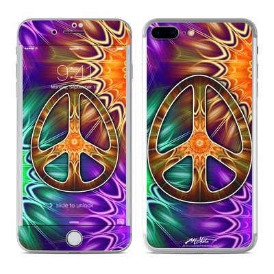 Apple iPhone 7 Plus Skin - Peace Triptik