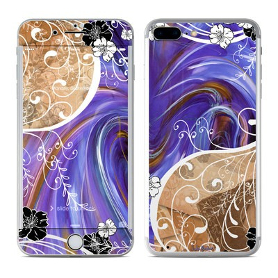 Apple iPhone 7 Plus Skin - Purple Waves