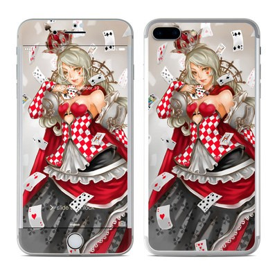 Apple iPhone 7 Plus Skin - Queen Of Cards