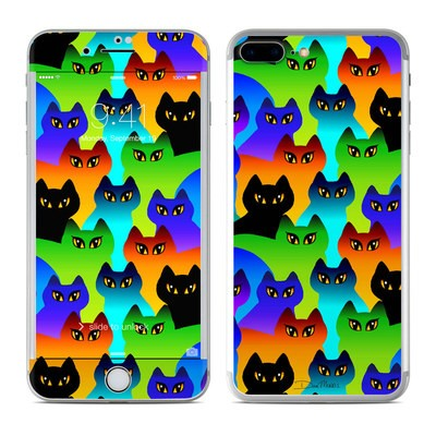Apple iPhone 7 Plus Skin - Rainbow Cats