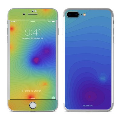 Apple iPhone 7 Plus Skin - Rainbow Contours