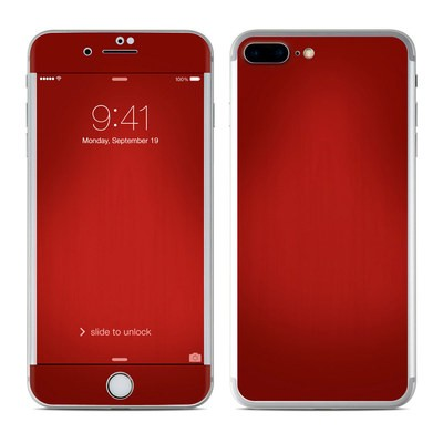 Apple iPhone 7 Plus Skin - Red Burst