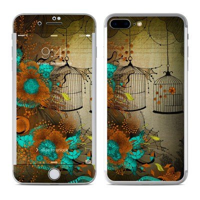 Apple iPhone 7 Plus Skin - Rusty Lace