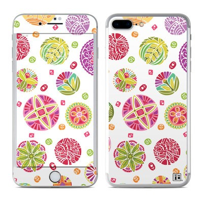Apple iPhone 7 Plus Skin - Round Flowers