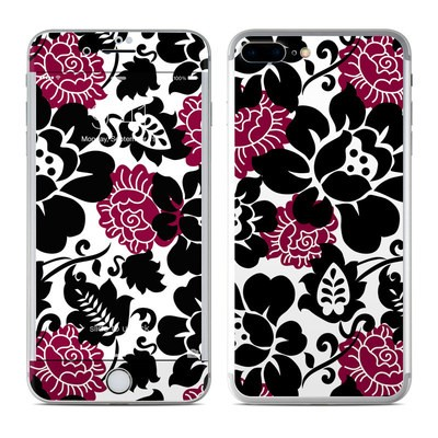 Apple iPhone 7 Plus Skin - Rose Noir