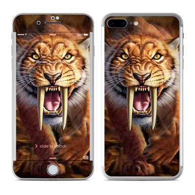 Apple iPhone 7 Plus Skin - Sabertooth