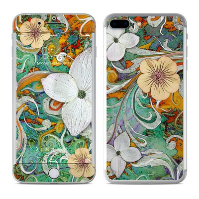 Apple iPhone 7 Plus Skin - Sangria Flora