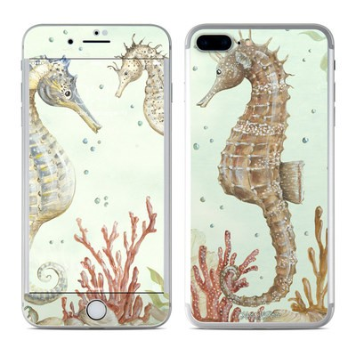 Apple iPhone 7 Plus Skin - Seahorse Trio