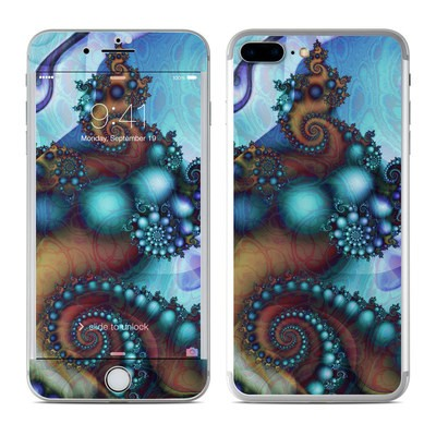 Apple iPhone 7 Plus Skin - Sea Jewel