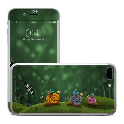 Apple iPhone 7 Plus Skin - Snail Race
