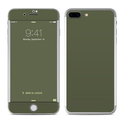 Apple iPhone 7 Plus Skin - Solid State Olive Drab