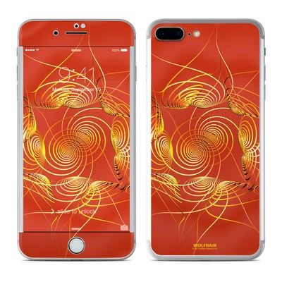 Apple iPhone 7 Plus Skin - Spiral Stellations