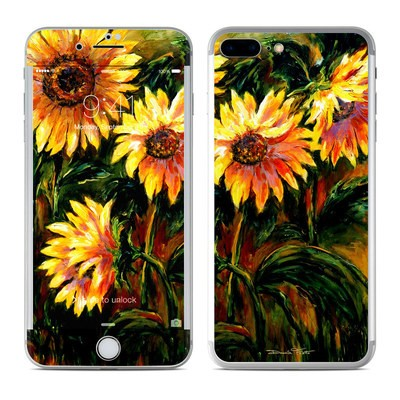 Apple iPhone 7 Plus Skin - Sunflower Sunshine