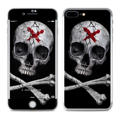 Apple iPhone 7 Plus Skin - Stigmata Skull