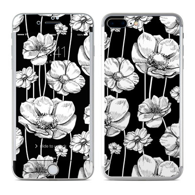Apple iPhone 7 Plus Skin - Striped Blooms