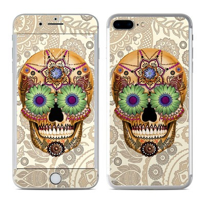 Apple iPhone 7 Plus Skin - Sugar Skull Bone