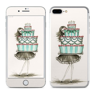 Apple iPhone 7 Plus Skin - She Takes The Cake