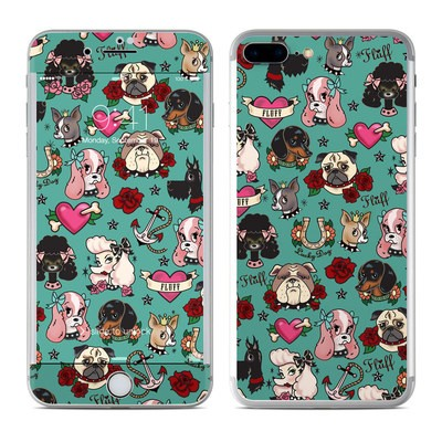 Apple iPhone 7 Plus Skin - Tattoo Dogs