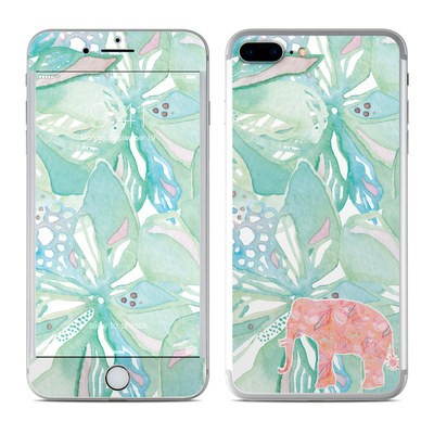 Apple iPhone 7 Plus Skin - Tropical Elephant