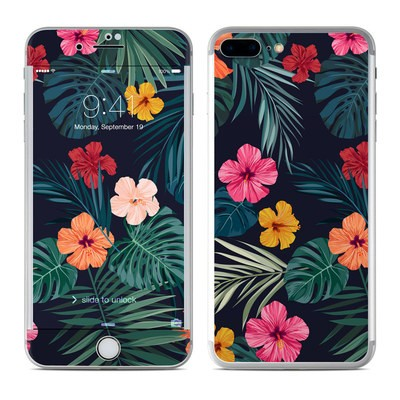 Apple iPhone 7 Plus Skin - Tropical Hibiscus
