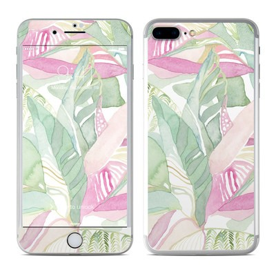 Apple iPhone 7 Plus Skin - Tropical Leaves