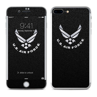 Apple iPhone 7 Plus Skin - USAF Black