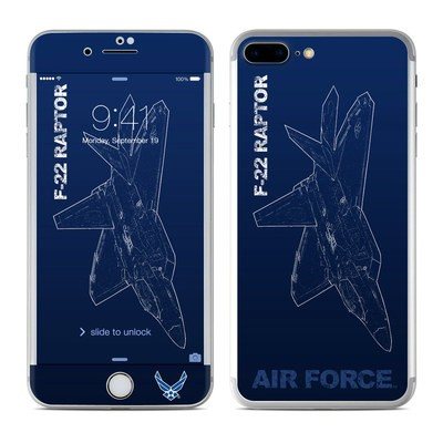 Apple iPhone 7 Plus Skin - F-22 Raptor