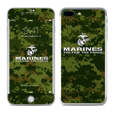 Apple iPhone 7 Plus Skin - USMC Camo