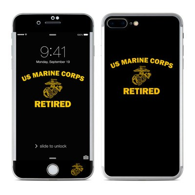 Apple iPhone 7 Plus Skin - USMC Retired