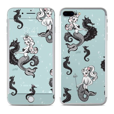Apple iPhone 7 Plus Skin - Vintage Mermaid