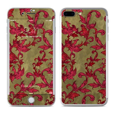 Apple iPhone 7 Plus Skin - Vintage Scarlet