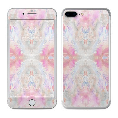 Apple iPhone 7 Plus Skin - Watercolor Damask