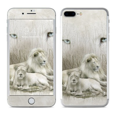 Apple iPhone 7 Plus Skin - White Lion