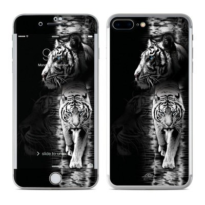 Apple iPhone 7 Plus Skin - White Tiger