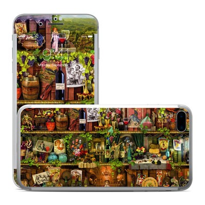 Apple iPhone 7 Plus Skin - Wine Shelf